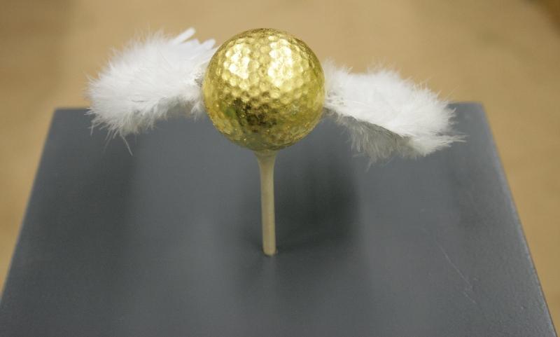flieg • kleines • goldenes • Bällchen • flieg